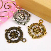 Tibetan silver plated carved star boot charm pendants   15pcs  EF3559