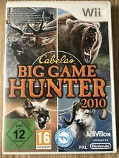 CABELA'S BIG GAME HUNTER 2010 CHASSE NINTENDO WII WIIU WII U
