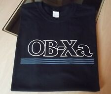 RETRO SYNTH T SHIRT SYNTHESIZER DESIGN OBXa S M L XL XXL