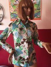 Très belle chemise Vintage - Taille 38/40 - Très fleurie et colorée