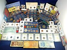 US Coin Collection  Lot Silver, Kennedy's, West Point, Mercury Dimes, Planchet +