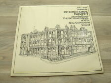 irish LP showband COUNTY WICKLOW ireland 60s JOE CAHIILL INTERNATIONAL CABARET