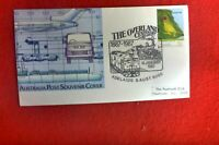 THE OVERLAND CENTENARY ADELAIDE POSTMARK 18 JAN 1987  ON AUST CARRIED COVER