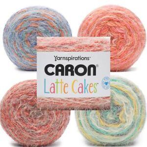 [BUY 10 GET 25% OFF] Caron Latte Cakes 250g - Crochet Knitting Yarn Bulky