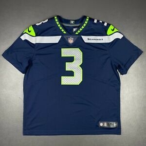 100% Authentic Seahawks Russell Wilson Nike Vapor Untouchable Limited Jersey 2XL
