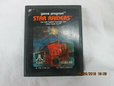Star Raiders Atari Video Game Cartridge 1982 Vintage Tested Cx2660