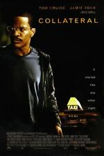COLLATERAL MOVIE POSTER 1 Sided ORIGINAL JAMIE FOXX 27x40