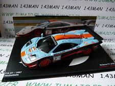 24H23M 1/43 IXO Altaya Passion vitesse GT : MC Laren F1 GTR FIA GT 1997 GULF