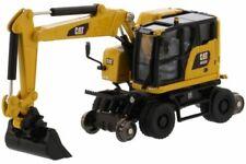 1:87 Scale Diecast Masters 85612 Caterpillar M323F Road / Rail Excavator - BNIB