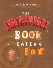 The Incredible Book Eating Boy-ExLibrary