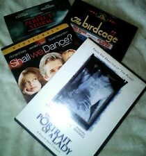 4 US DVDs in 1 - Shall We Dance, Perfect Storm, Portrait of a Lady & Birdcage