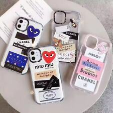 Personalized brand DIY Hypebeast iPhone Case 11 Pro Max SE XR XS 8 Impact Clear
