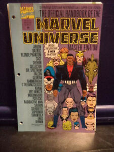 The Official Handbook of the Marvel Universe Master Ed 23 (11 Loose leaf Sheets)