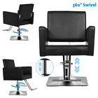 Barber Classic Square Barber Chair Hydraulic Beauty Salon Spa Hair Styling Chair
