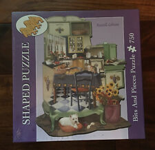 Russell Cobane Bits & Pieces Shaped Puzzle 750 Pieces Kitchen New Sealed!