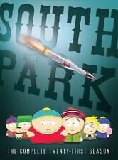 South Park: The Complete Twenty-First Season 21 (DVD, 2018) 60 day warranty New