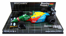 RARE Minichamps Benetton Ford B188 1988 - T Boutsen 1/43 Scale