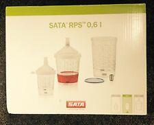 SATA 1010438  RPS CUP 0.6L FLAT SIEVE 125 WATERBORNE (60/CS)