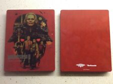 WOLFENSTEIN II  2 : THE NEW COLOSSUS STEELBOOK CASE ONLY NO DISC PS4/XBOX1 NEW