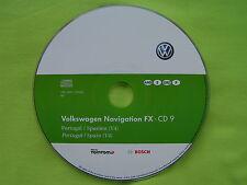 CD NAVIGATION FX SPANIEN PORTUGAL 2012 V4 VW RNS 310 TOURAN SEAT SKODA AMUNDSEN