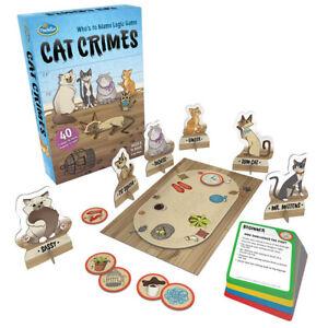 Cat Crimes Logic Game and Brainteaser