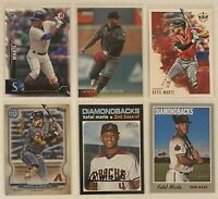⚾️Ketel Marte 6-CARD LOT including ROOKIE 2016 Bowman #144