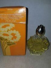 Avon Autumn Aster Demi Decanter Sun Blossoms Cologne .75 fl oz - NIB