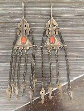 Antique Turkoman Tribal Earrings