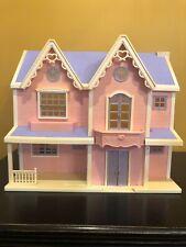 Hello Kitty Vintage Victorian Doll house Sanrio Bandai Pink Purple VTG