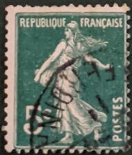 Stamp France 1906 5c Sower Used