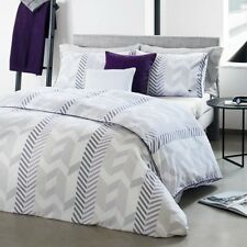 Lacoste Home Miami Twin / Twin Xl Comforter Set Purple MSRP: $265