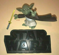 STAR WARS the CLONE WARS micro series YODA Jedi Master Figure Toy Exclusiv Gendy