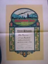 Große Sporturkunde - Lahr/Baden   1921