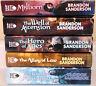 Lot of 5 Mistborn paperbacks by Brandon Sanderson