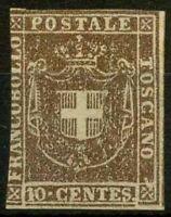 Toscana 1860 Sass. 19d Senza gomma 40%