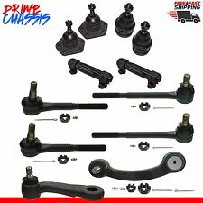 12 PC Parts Chevrolet G10 G20 Van G15 G25 PS 83-95 Tie Rod Arm Ball Joints
