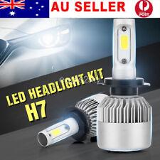 2 X H7 80W 8000LM LED Car Headlight Conversion Bulb Beam Kit 6000K High/Low Beam