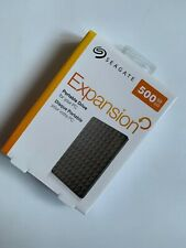 Seagate Expansion 500GB Disco duro externo USB portátil 2.5 HDD de 3.0 para PC MAC