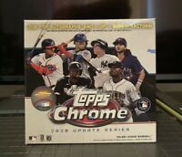 Topps 2020 Chrome Update Series Mega Box New Factory Sealed In Hand Ready