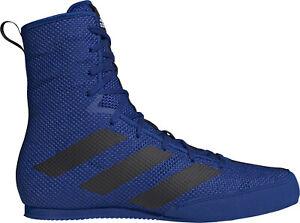 adidas Box Hog 3 Mens Boxing Shoes - Blue