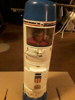 1975 Six Million Dollar Man Action Figure With Rocketship
