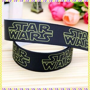 """Star Wars Ribbon 7/8"""" (22mm) Wide 1m is £1.49 NEW UK SELLER FREE P&P"""