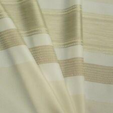 Web-Stores mit weiß /& beige goldenen Streifen Reststücken