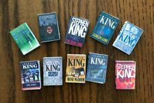 Dollhouse Miniatures! Set #3 of 10 Stephen King Books! Readable!