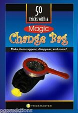 MAGIC CHANGE BAG BOOK Booklet 50 Effects Tricks Clown Kid Show Prop Beginner
