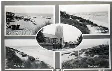 Hemsby Multi View unused RP old postcard Good condition