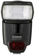 NEW Canon Speedlite 430EX II Shoe Mount Flash for Canon DSLR with Case No Box