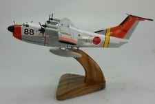 US-1 Japan Air-Sea Rescue Shin Meiwa US1 Airplane Wood Model Replica Small New