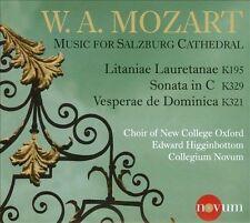 Mozart: Music for Salzburg Cathedral (CD, Nov-2013, Novum)