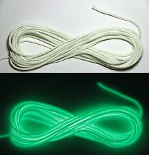 20ft Glow In The Dark GITD Rope Caving Craft Cord 3/32""